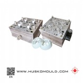 4 cavity Screw cap mould
